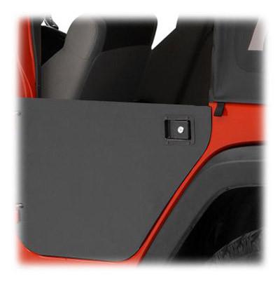 BESTOP Element Rear Doors Paintable Enclosure Kit For 2007-18 Jeep Wrangler JK Unlimited 4 Door Models 51804-01