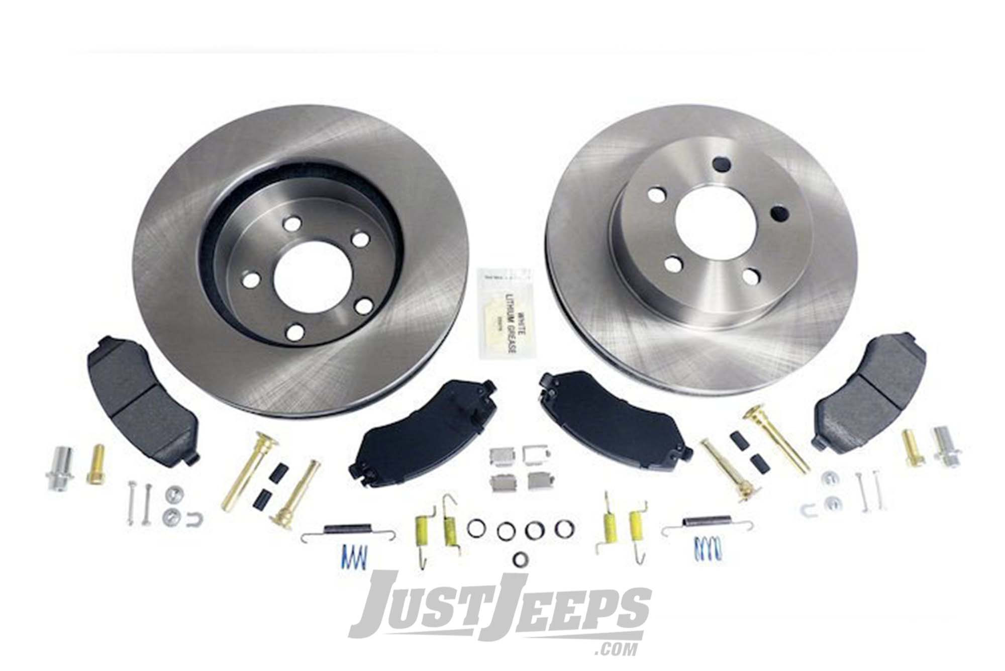 Crown Automotive Front Disc Brake Service Kit For 2002-07 Jeep Liberty KJ Models