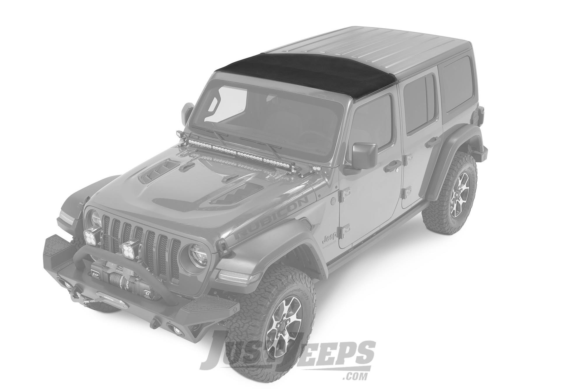 Bestop Sunrider Hardtop For 2018+ Jeep Wrangler JL 2 Door & Unlimited 4 Door Models