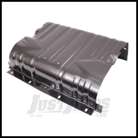 Omix-ADA Fuel Tank Skid Plate For 1976-95 Jeep CJ Series & Wrangler YJ With 15 Gallon Tank Only