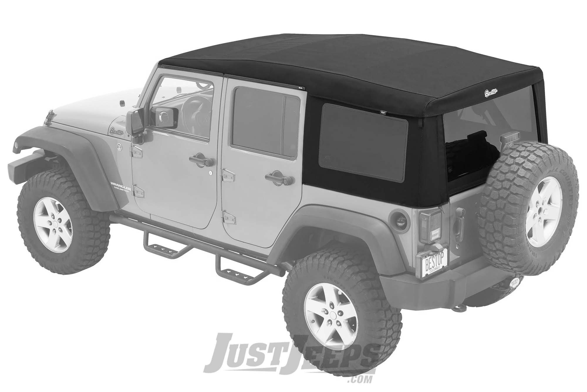BESTOP Supertop Ultra For 2007-18 Jeep Wrangler JK Unlimited 4 Door Models