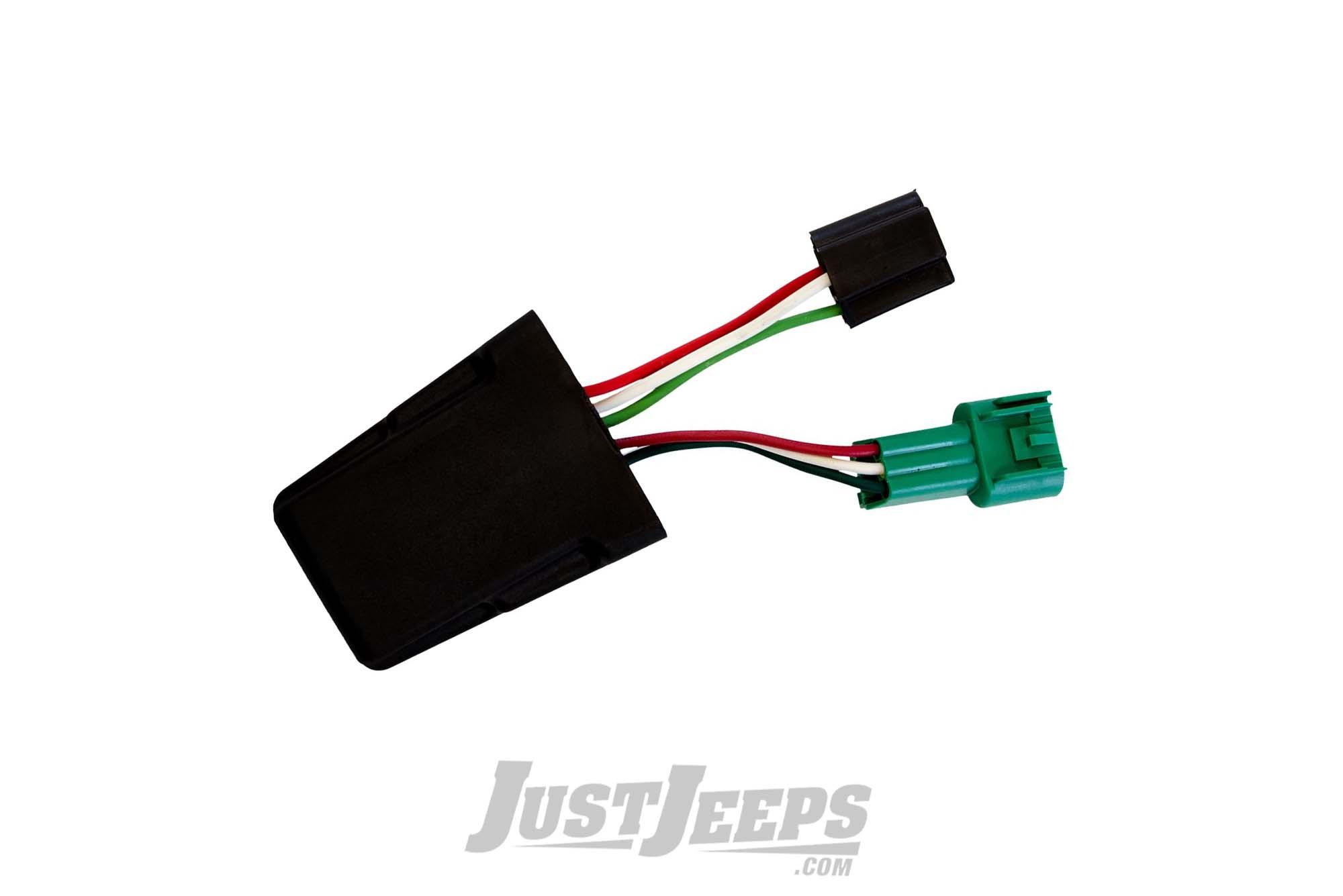 Rigid Industries Width Modulation Adapter Harness H4/H13 For 2007-18 Jeep Wrangler JK 2 Door & Unlimited 4 Door Models 55006