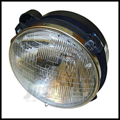 Omix-ADA Headlight Assembly Driver Side for 1997-06 Jeep Wrangler TJ 12402.03