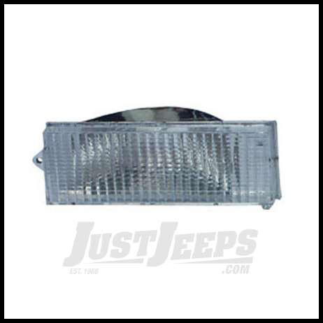 Omix-ADA Parking Lamp Clear Driver Side For 1984-93 Jeep Cherokee 12405.13