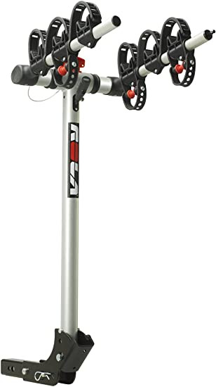 """Rola 3 Bike Folding Carrier for 1-1/4"""" or 2"""" Receiver Hitches Universal Fit 59403"""