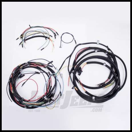 just jeeps buy omix ada wiring harness for 1946 49 jeep cj2a exact rh justjeeps com