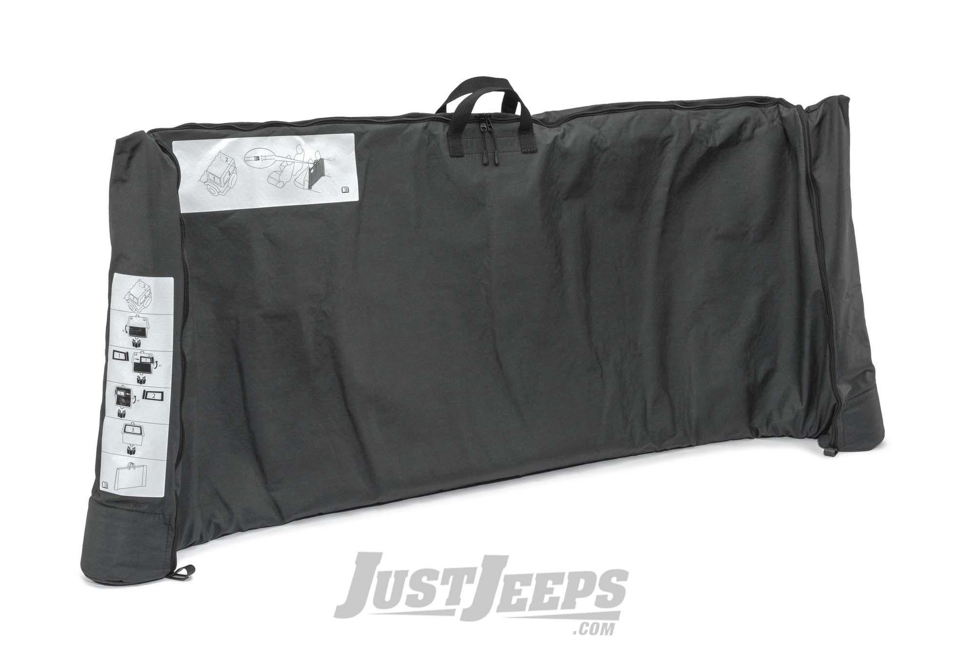 MOPAR Soft Window Storage Bag For 2018+ Jeep Wrangler JL Unlimited 4 Door Models 68358392AC