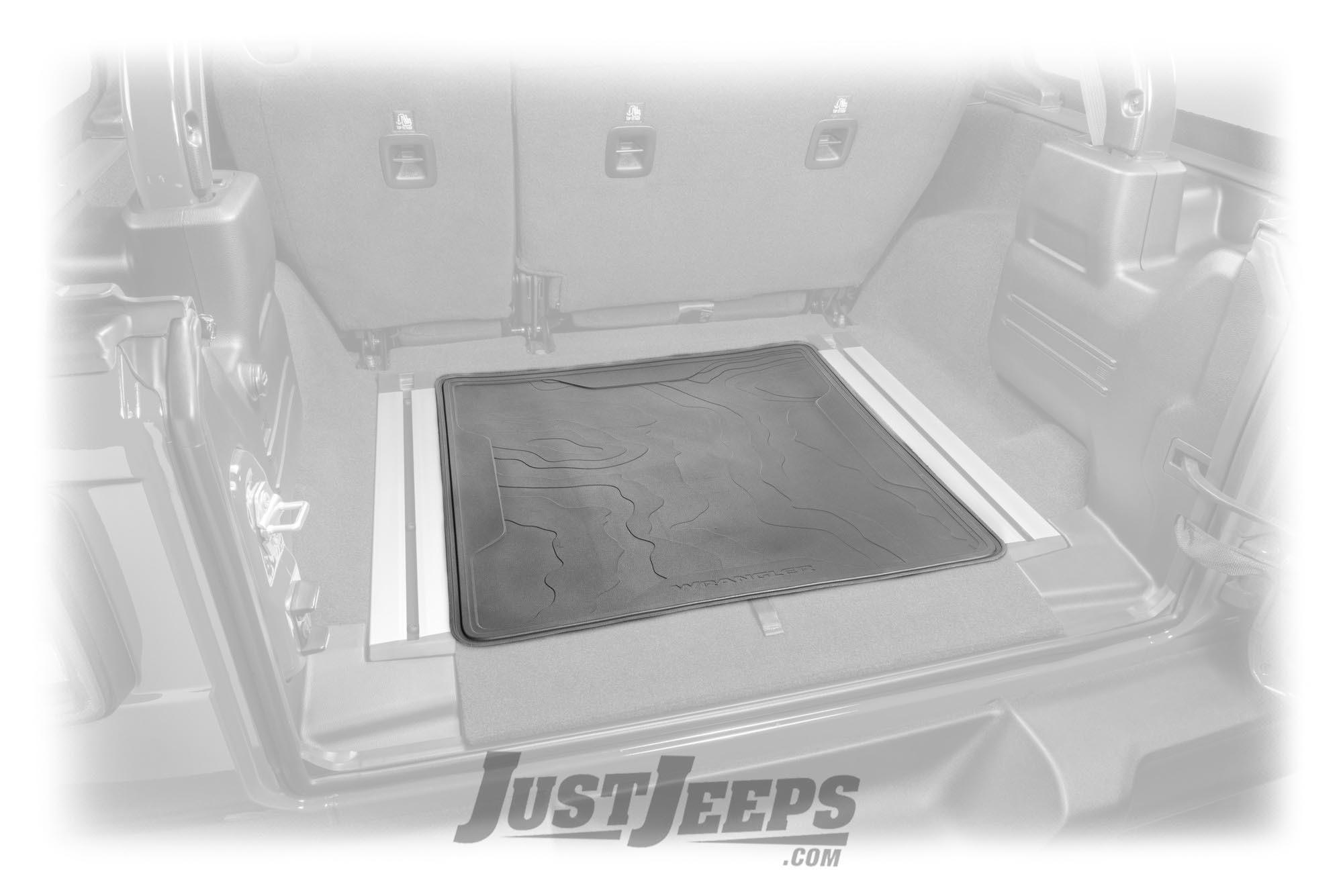 Just Jeeps Mopar Trail Rail Reversible Cargo Mat For 2018