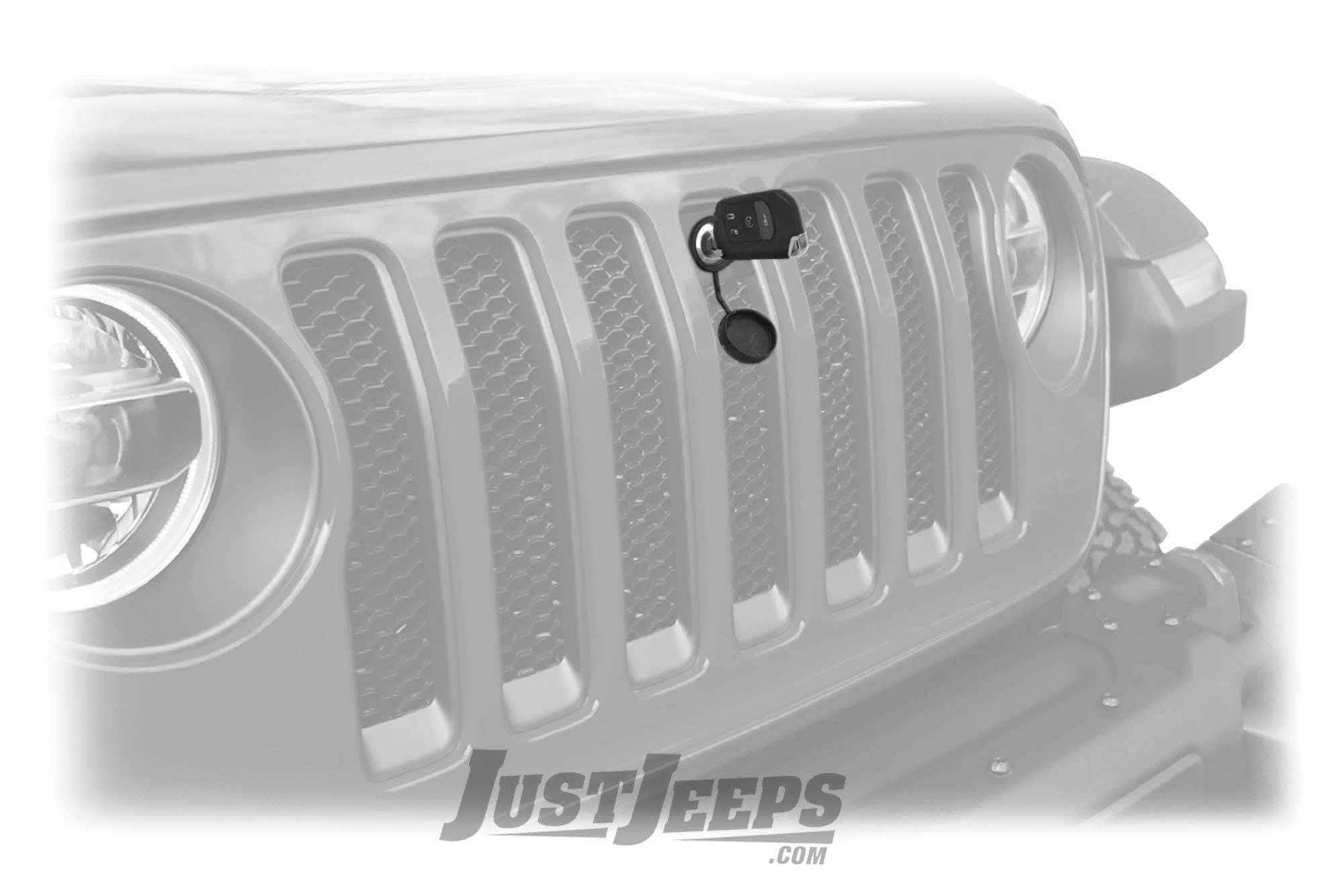 Jeep Wrangler YJ 1987-1995 Hood Lock Kit Protect your Engine and Lock your Hood