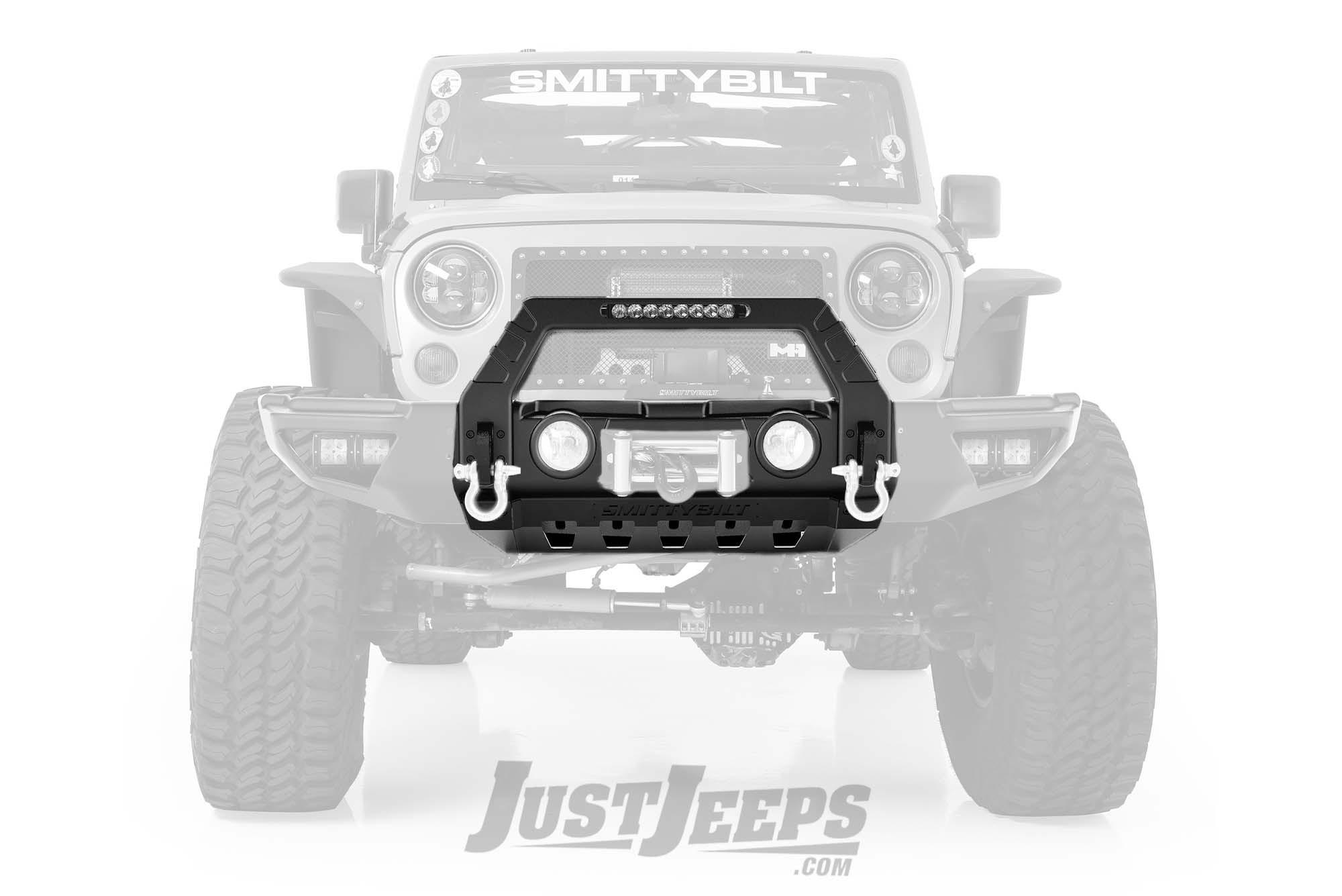 SmittyBilt Stryker Front Bumper For 2007-18+ Jeep Gladiator JT & Wrangler JK/JL 2 Door & Unlimited 4 Door Models