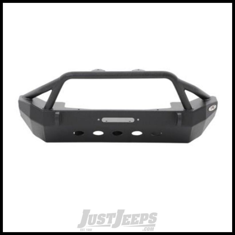 SmittyBilt XRC Front Bumper In Black Textured For 2007-18 Jeep Wrangler JK 2 Door & Unlimited 4 Door Models