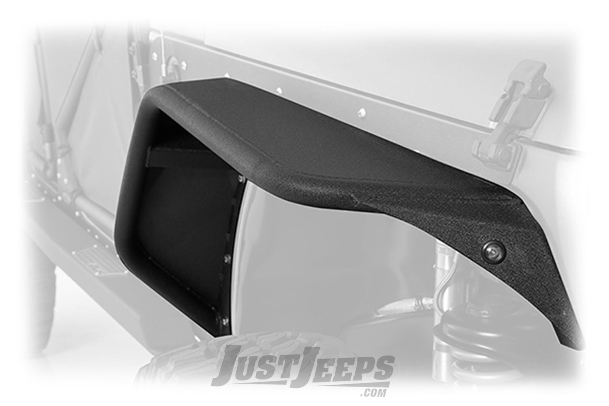 Smittybilt XRC Flux Front Fender Flares For 2007-18 Jeep Wrangler JK 2 Door & Unlimited 4 Door Models
