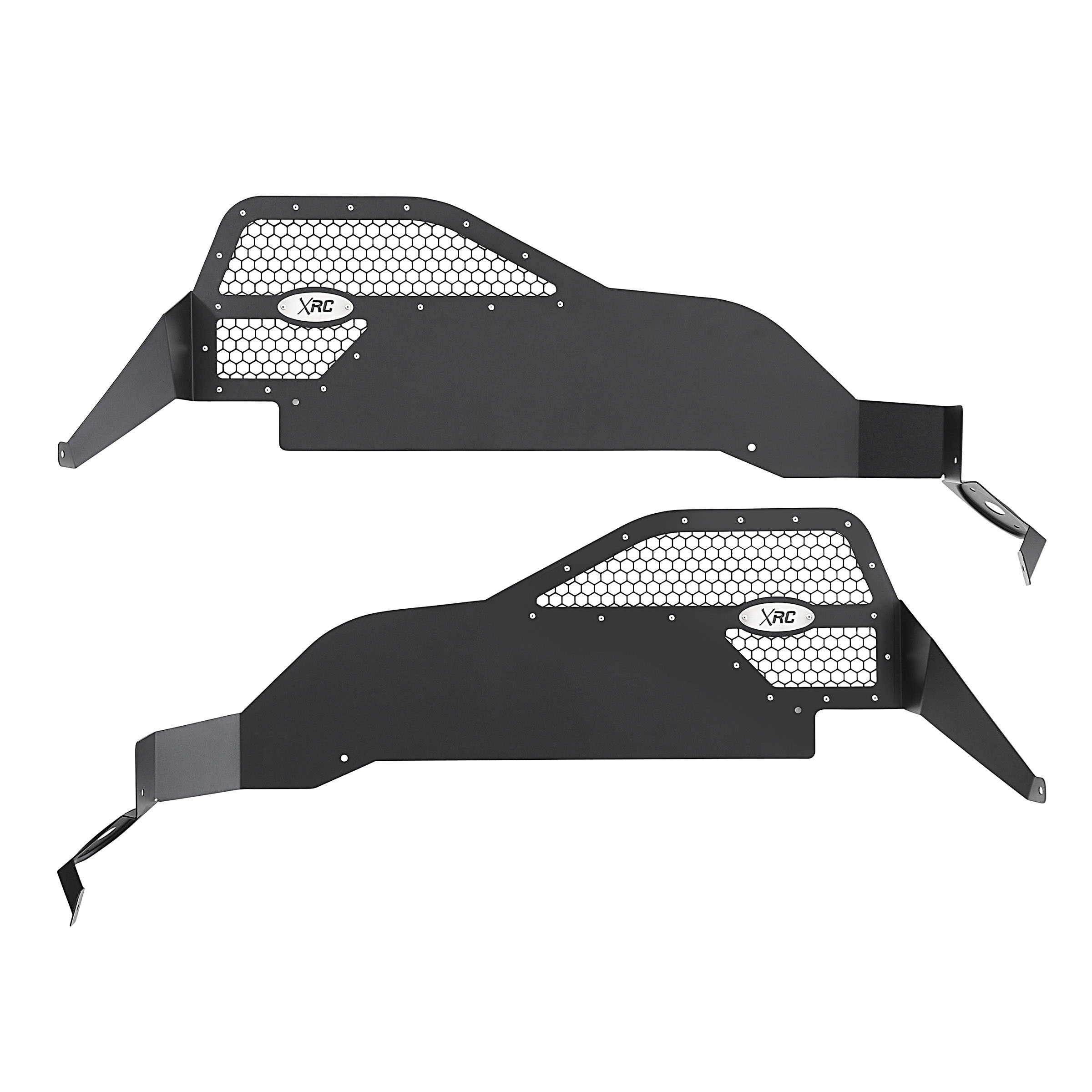 SmittyBilt Aluminum XRC Rear Inner Fender Liners For 2007-18 Jeep Wrangler JK 2 Door & Unlimited 4 Door Models 76986