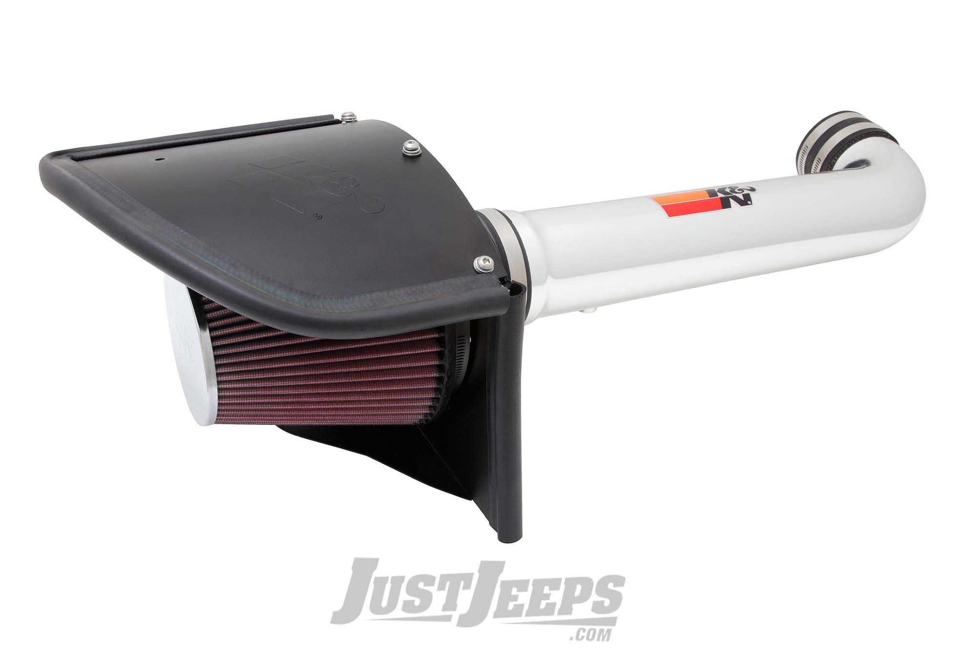 K&N 3.6L 77 Series High Flow Air Intake For 2012-18 Jeep Wrangler JK 2 Door & Unlimited 4 Door Models