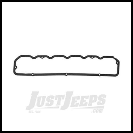 Omix Ada Valve Cover Gasket For 1981 86 Jeep Cj Series And Full Size With 4 2l With Replacement Aluminum Valve Cover Installed