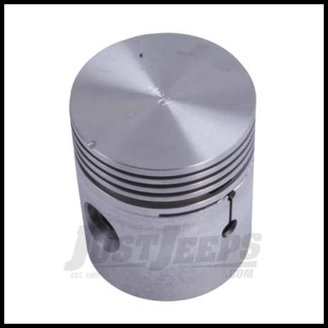 Omix-ADA Piston With Pin For 1941-71 CJ Series With 4 CYL 134 Standard Size 17427.06