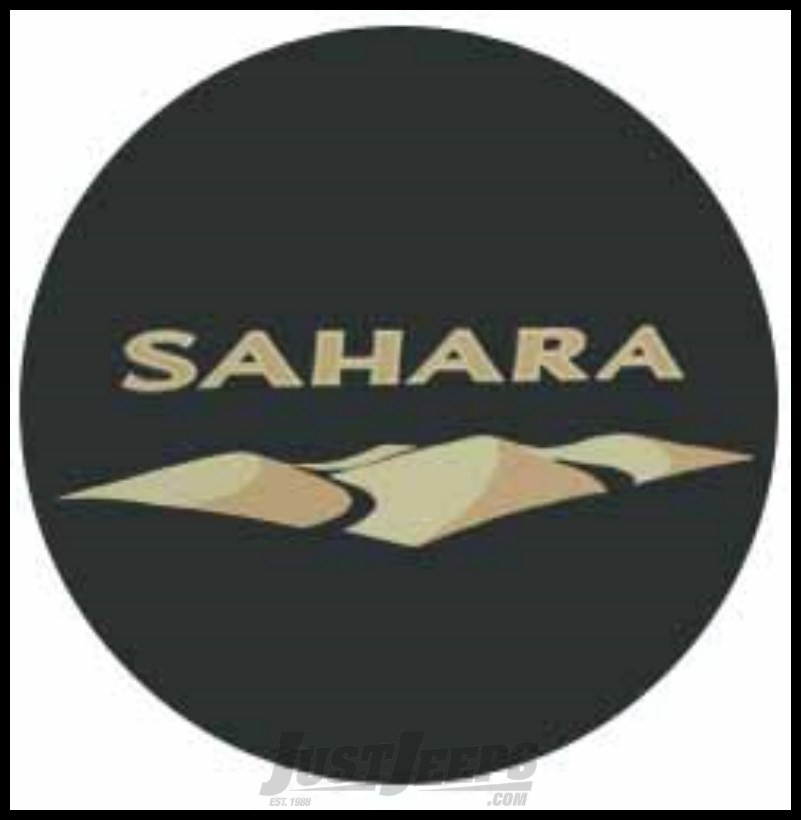 Just Jeeps Buy Jeep Tire Cover In Black Denim With Sahara