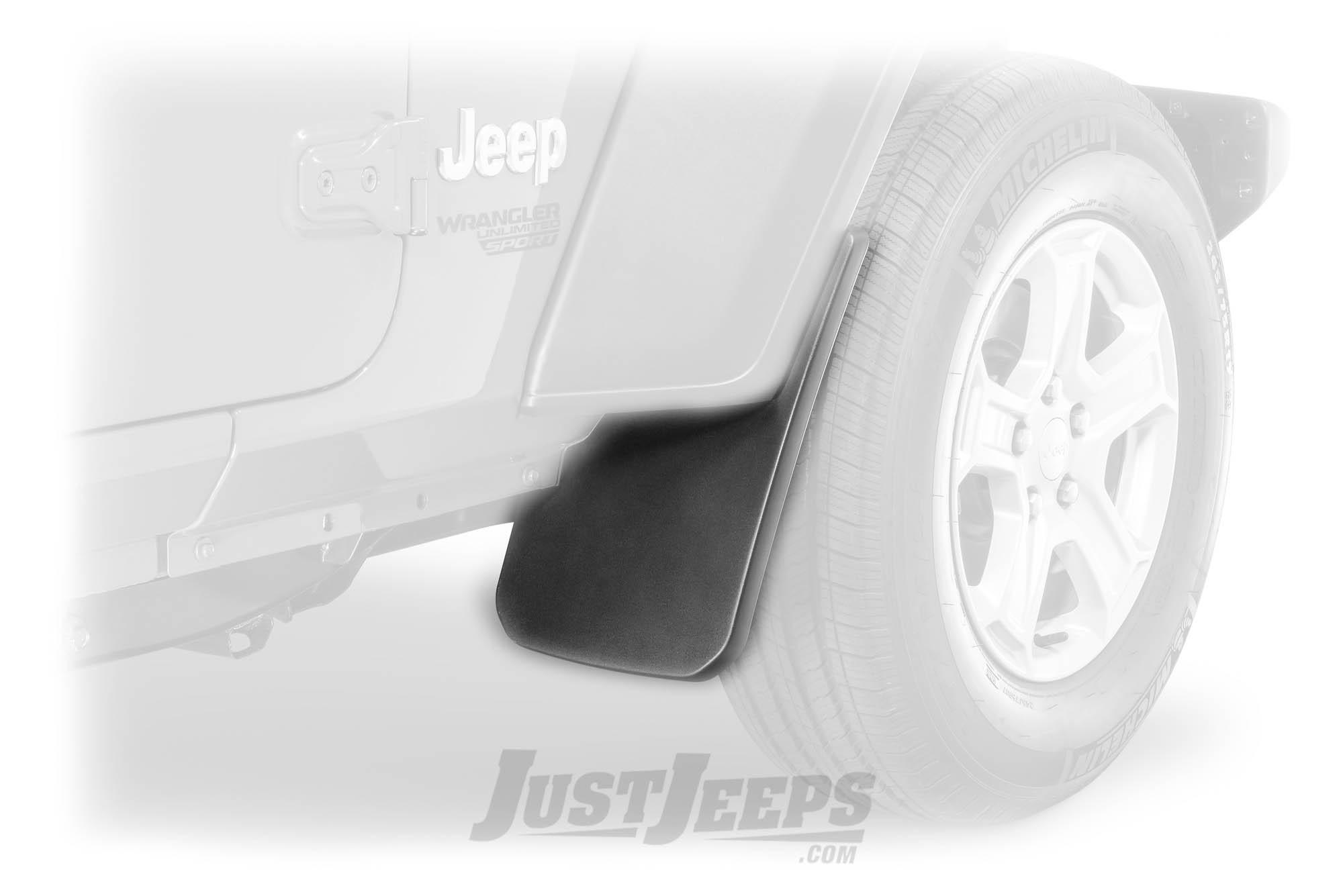 Just Jeeps Mopar Front Molded Splash Guards For 2018 Jeep