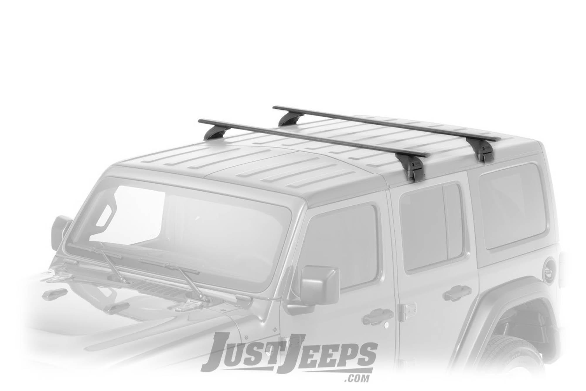 b793203491bb MOPAR Removable Roof Rack Kit For 2018+ Jeep Wrangler JL 2 Door & Unlimited  4 Door Models