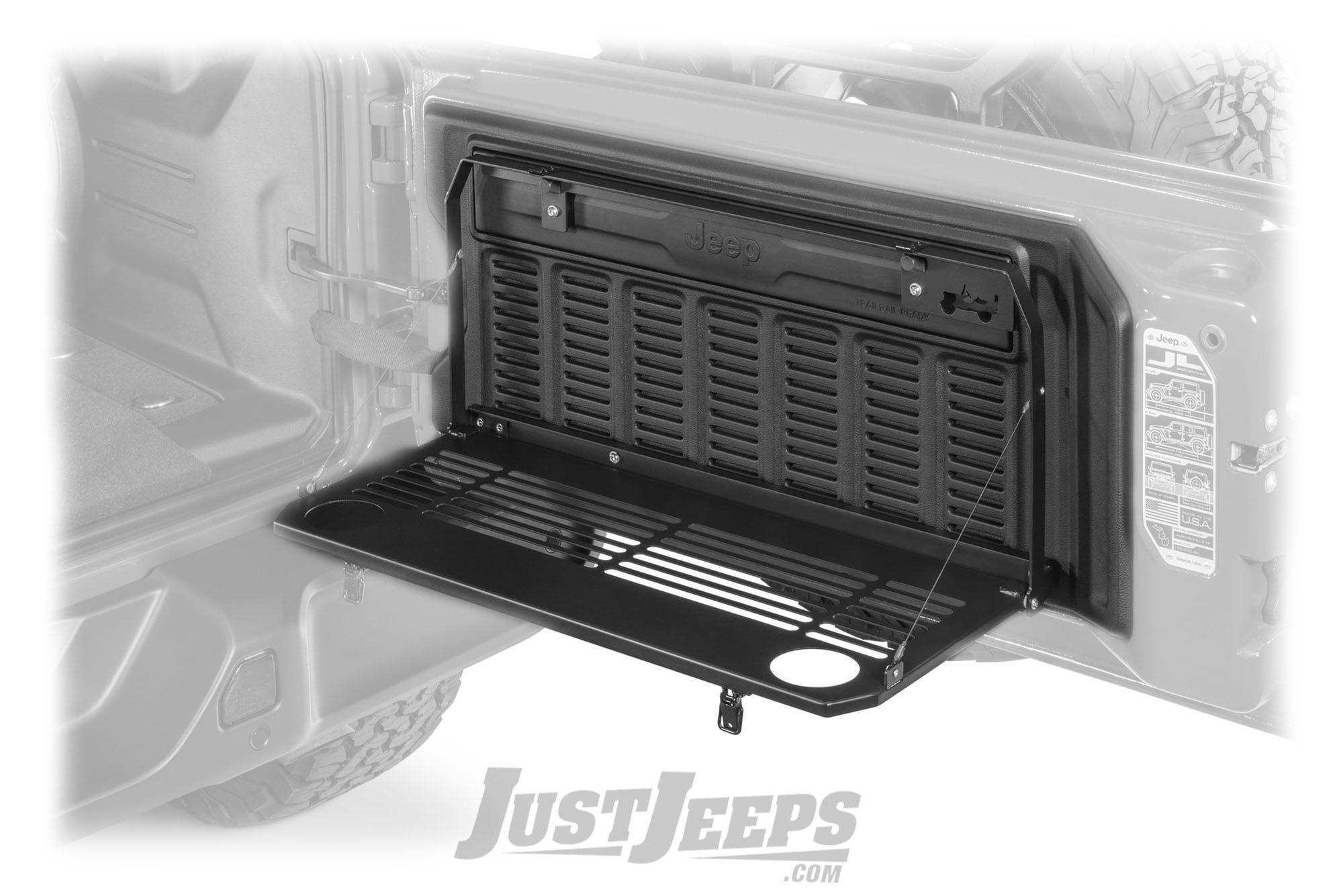 Just Jeeps Mopar Tailgate Table For 2018 Jeep Wrangler Jl