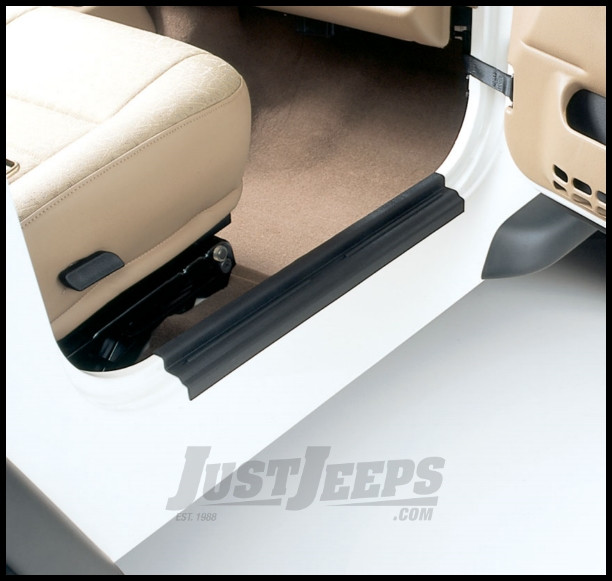 Auto Ventshade Stepshield Entry Guards For 1997-06 Jeep Wrangler TJ Models 88106