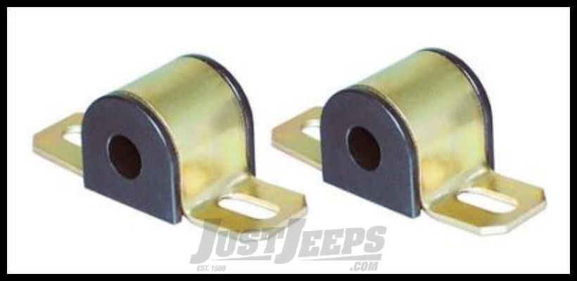 """Energy Suspension 7/8"""" Sway Bar Bushings in Black For 1976-86 Jeep CJ 9.5108G"""