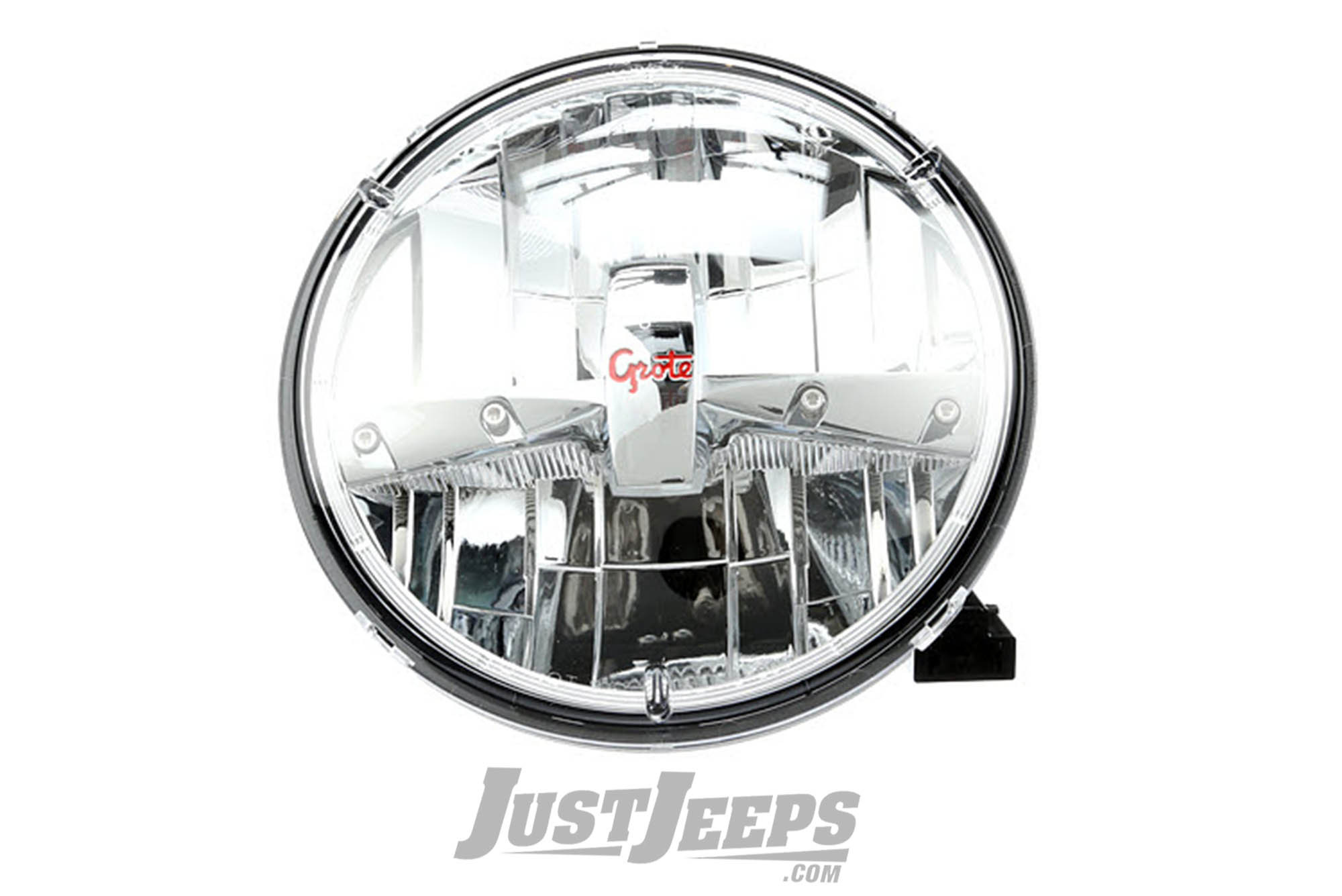 just jeeps grote led headlamp  single  for 1955