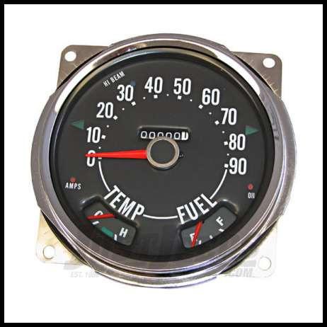 Omix-Ada 13319.05 Temperature Dash Indicator Light