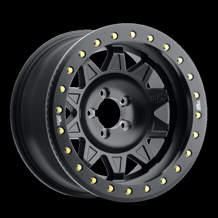 DirtyLife 9302 RoadKill Wheel Matte Black w/ Black BeadLock 17x9 5X5 w/4.50BS 9302-7973MB14