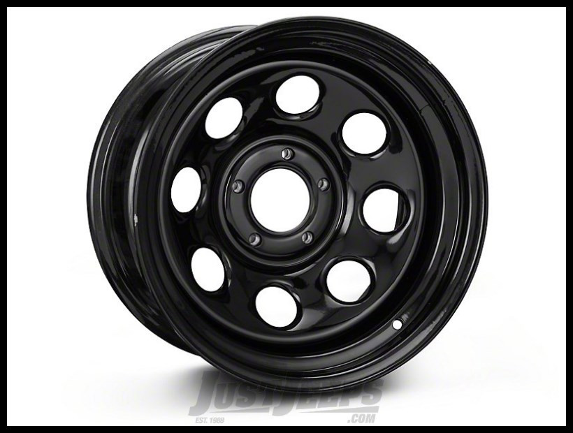 Pro Comp 97 Rock Crawler Series Wheel 17x9 With 5 On 5.00 Bolt Pattern & 4.25 Backspace In Gloss Black PCW97-7973