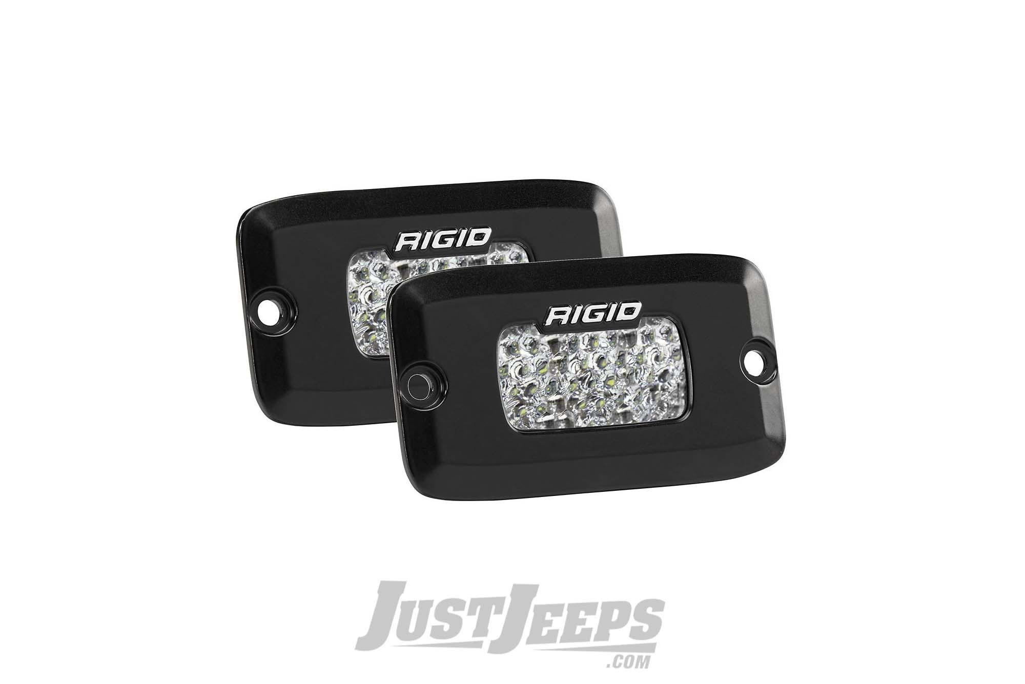Rigid Industries SR-M Series Flush Mount Diffused LED Backup Light Kit