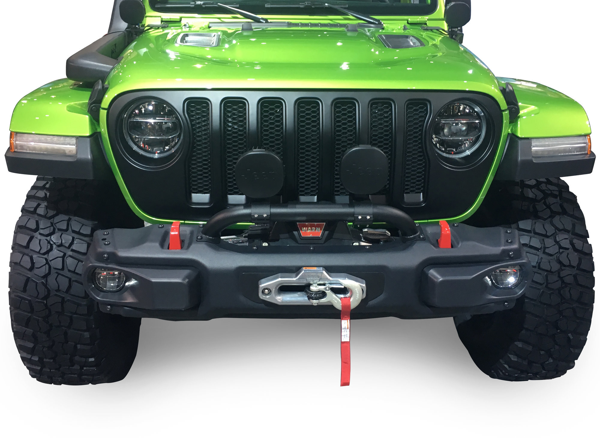 Just Jeeps Buy Mopar Factory Parts Stubby Rubicon Front