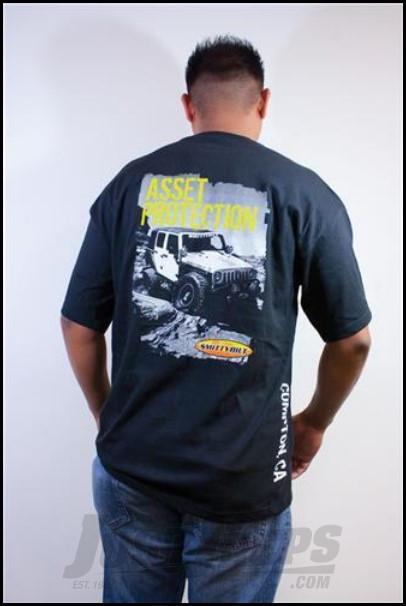 SmittyBilt T-Shirt in Black, Small in Black TS11S