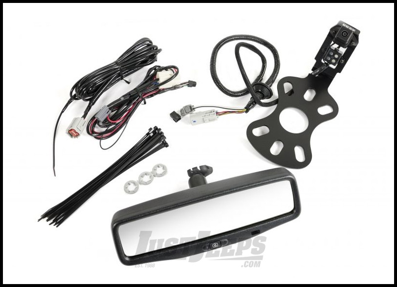 AEV Rear Vision System With Mirror Display For 2013-18 Jeep Wrangler JK 2 Door & Unlimited 4 Door