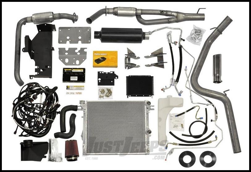 AEV 5.7L V8 Hemi Conversion Kit For 2007-10 Jeep Wrangler JK 2 Door & Unlimited 4 Door  With 06-08 5.7L Hemi Engine 40307011AB