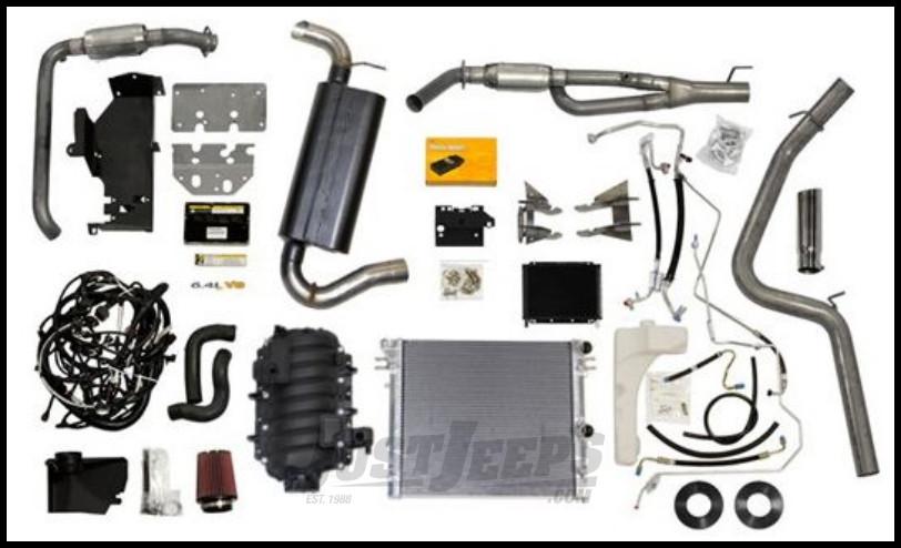 Just Jeeps Buy Aev 6 4l Vvt V8 Hemi Conversion Kit For