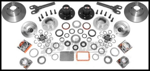 Just Jeeps Alloy Usa Front Manual Locking Hub Conversion