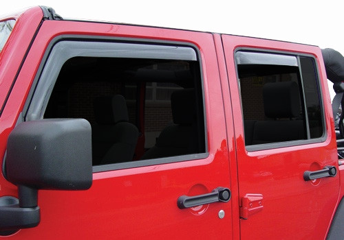 Just Jeeps Buy Auto Ventshade In Channel Ventvisors In