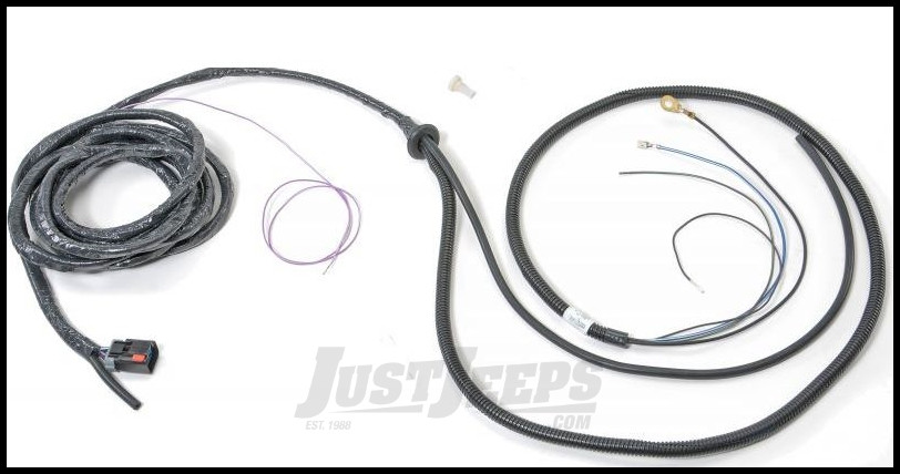 just jeeps bestop defroster wiring harness assembly for bestop trektop pro soft top kits for