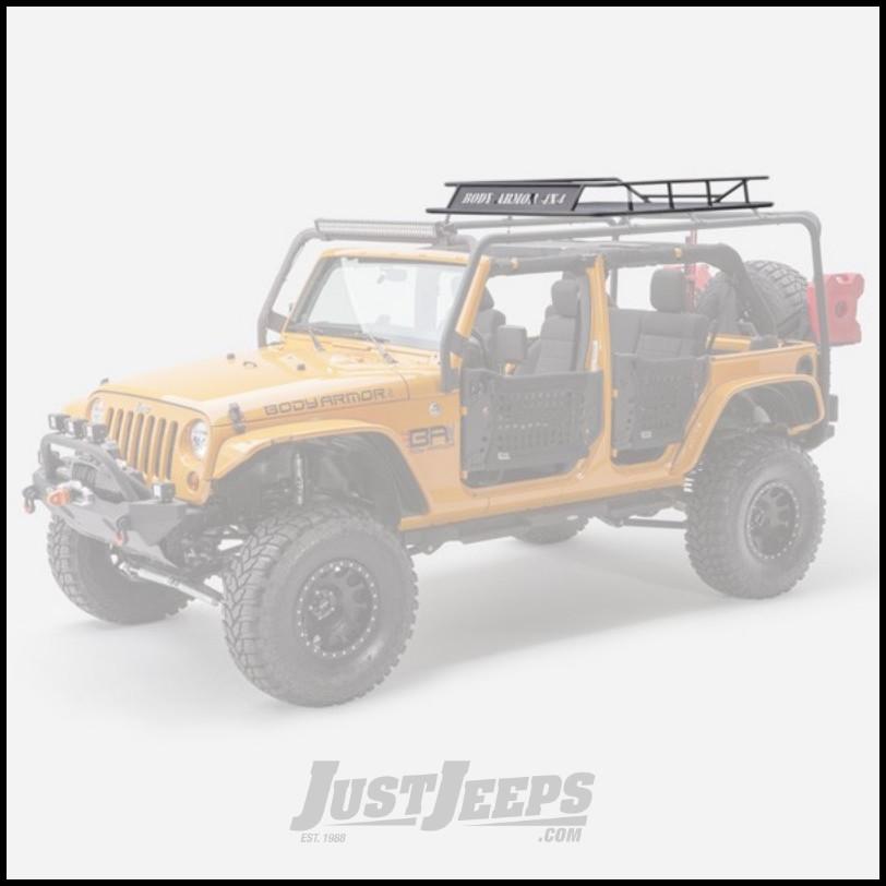 Just Jeeps Buy Body Armor 4x4 Black Aluminum Cargo Basket