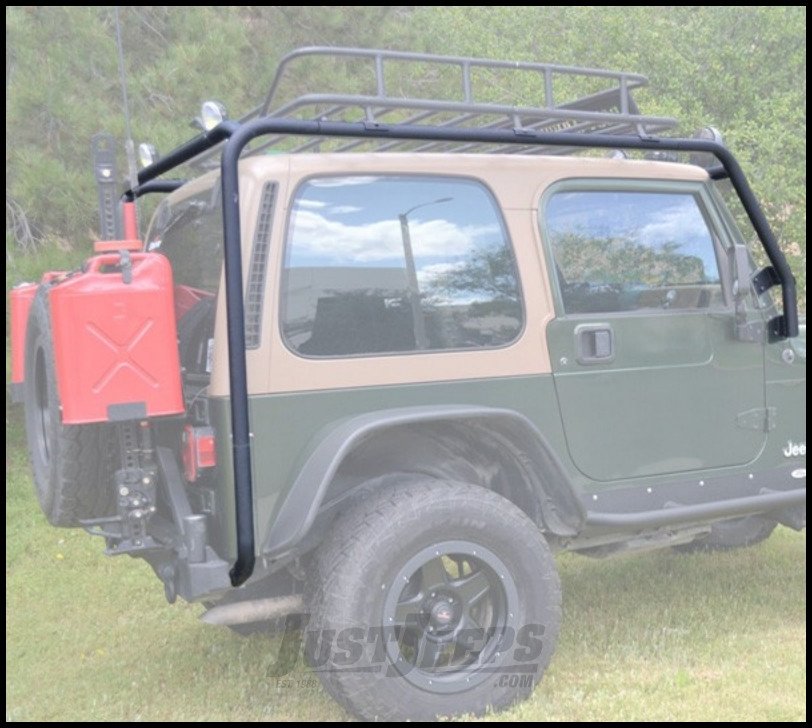 Just Jeeps Body Armor 4x4 Roof Rack Base In Textured Black