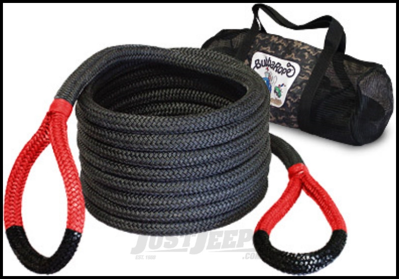 """Bubba Rope Standard Bubba 7/8"""" x 30' Recovery Rope With A 28,600 lbs. Breaking Strength"""