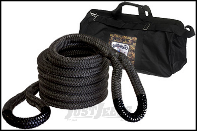 """Bubba Rope Extreme Bubba 2"""" x 20' Recovery Rope With A 131,500 lbs. Breaking Strength"""