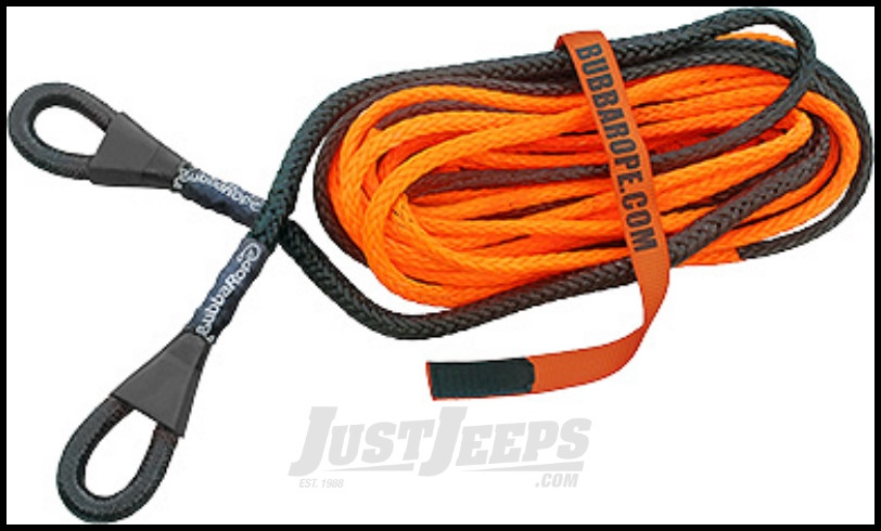 """Bubba Rope 50' Winch Line Extension 3/8"""" x 50' With A 17,200 lbs. Breaking Strength"""