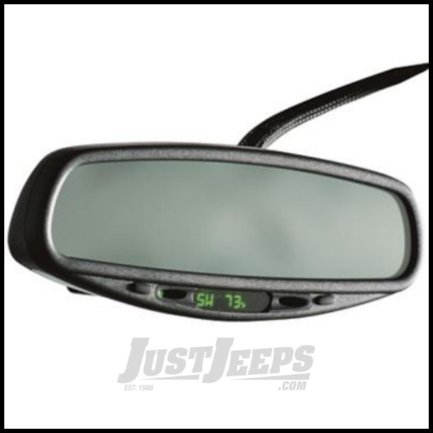 just jeeps buy cipa usa universal rear view auto dimming mirror with compass maplight. Black Bedroom Furniture Sets. Home Design Ideas