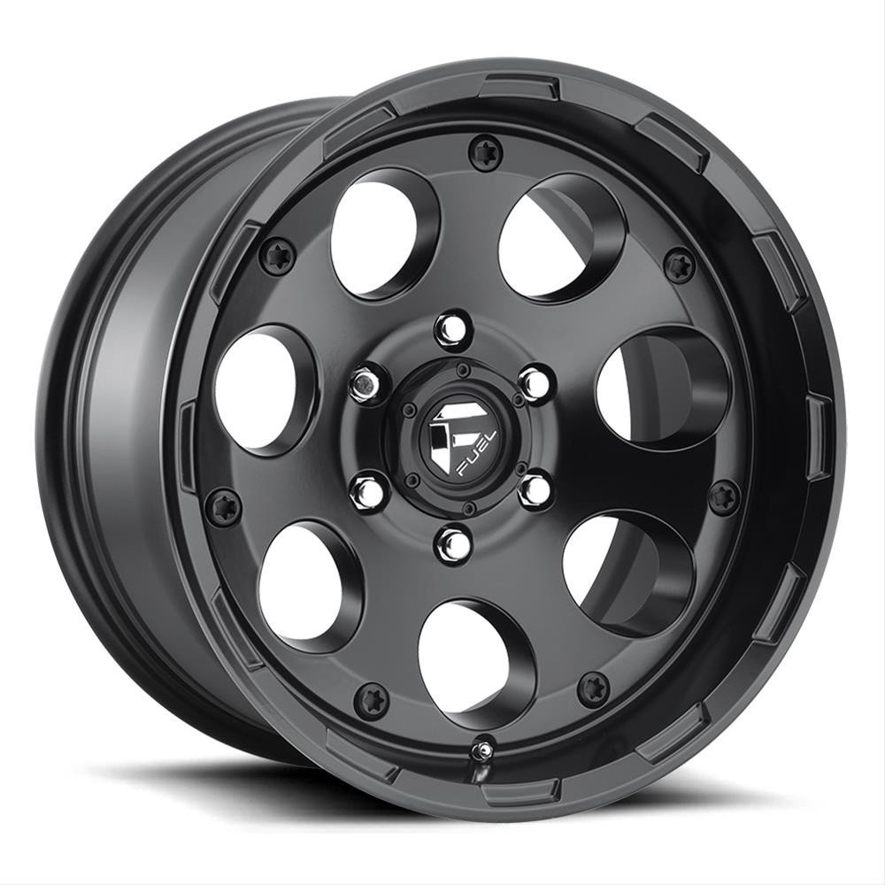 Fuel Off-Road D608 Enduro 17X9 in Matte Black For Jeep Vehicles with 5x5 Bolt Patterns D60817907345