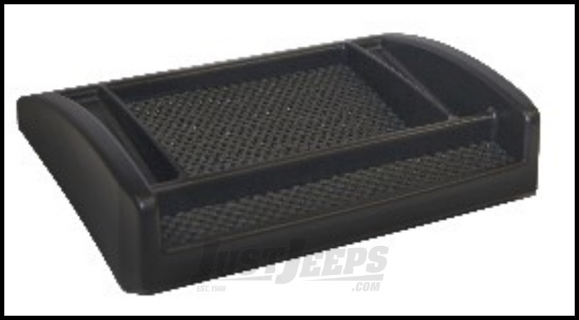 Drake Off Road Dash Console Tray For 2007-10 Jeep Wrangler JK 2 Door & Unlimited 4 Door