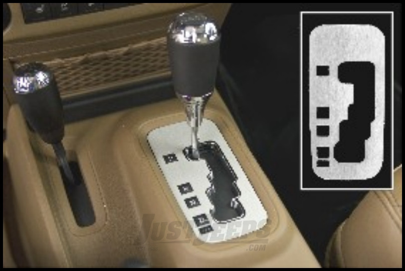 Just Jeeps Drake Off Road Brushed Aluminum Automatic Shift