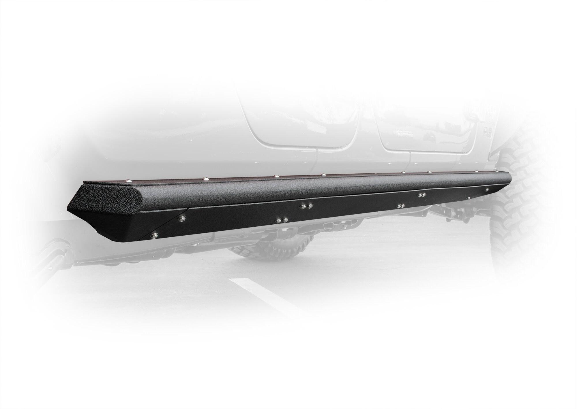 DV8 Offroad Bolt-On Side Steps Sliders For 2020+ Jeep Gladiator JT 4 Door Models SRGL-02