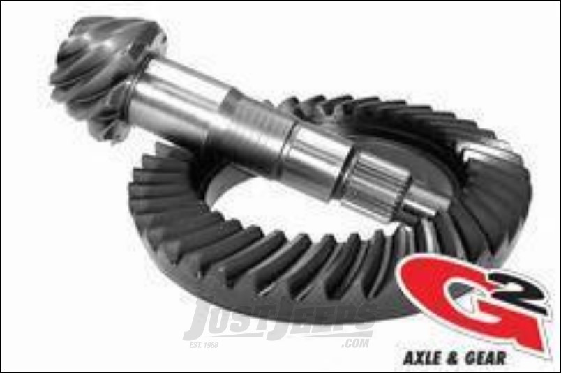 G2 Axle & Gear Performance 5.13 Ring & Pinion Set For 2007-18 Jeep Wrangler JK 2 Door & Unlimited 4 Door Models With Dana 44 Front Axle 2-2051-513R